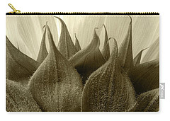 Dandelion In Sepia Carry-all Pouch by Micah May