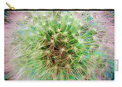 Carry-all Pouch featuring the photograph Dandelion by Jasna Dragun