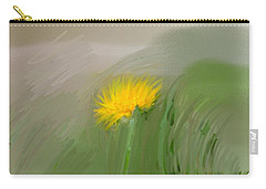 Carry-all Pouch featuring the photograph Dandelion May 2015 Painterly by Leif Sohlman