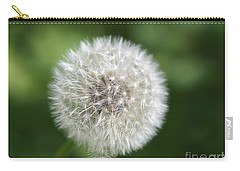 Dandelion - Poof Carry-all Pouch by Susan Dimitrakopoulos