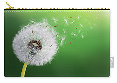 Carry-all Pouch featuring the photograph Dandelion Seed by Bess Hamiti