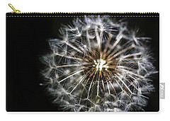 Carry-all Pouch featuring the photograph Dandelion Seed by Darcy Michaelchuk