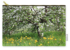 Dandelions And Apple Blossoms Carry-all Pouch