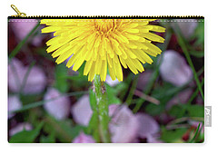 Dandelions And Petals Carry-all Pouch