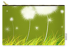 Dandelions Are Free Carry-all Pouch