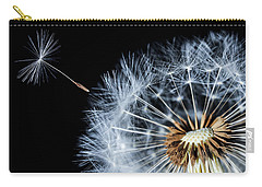 Carry-all Pouch featuring the pyrography Dandy by Bess Hamiti