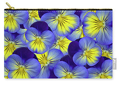 Dandy Pansies Carry-all Pouch