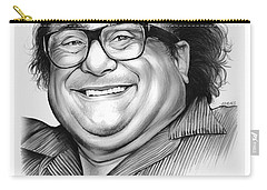 Danny Devito Carry-all Pouch by Greg Joens