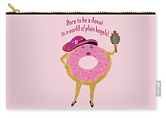 Dare To Be A Donut Carry-all Pouch
