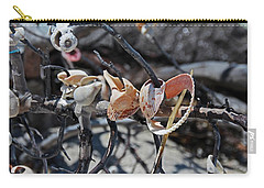 Carry-all Pouch featuring the photograph Dare To Touch by Michiale Schneider