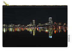 Carry-all Pouch featuring the photograph Dark As Night by Juergen Roth