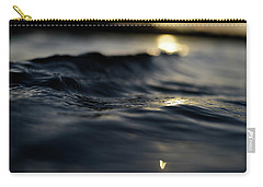 Carry-all Pouch featuring the photograph Dark Atlantic Traces by Laura Fasulo