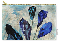 Dark Blue Carry-all Pouch by Sarah Loft