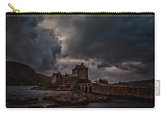 Carry-all Pouch featuring the photograph Dark Clouds #h2 by Leif Sohlman