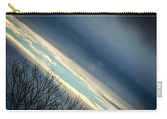 Dark Clouds Parting Carry-all Pouch
