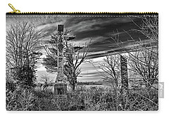 Carry-all Pouch featuring the photograph Dark Days by Brian Wallace