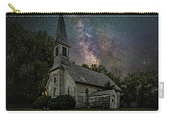 Carry-all Pouch featuring the photograph Dark Enchantment  by Aaron J Groen