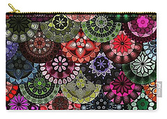 Dark Flower Carry-all Pouch