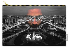 Dark Forces Controlling The City Carry-all Pouch by ISAW Gallery