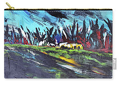 Dark Forest Carry-all Pouch by John Jr Gholson