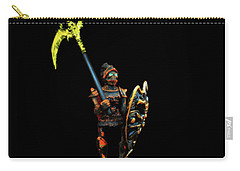 Carry-all Pouch featuring the photograph Dark Guard by Mark Blauhoefer