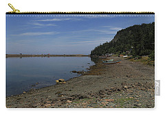 Carry-all Pouch featuring the photograph Dark Harbour Pond by Gary Hall