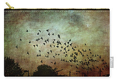 Carry-all Pouch featuring the photograph Dark Kentucky Skies by Jan Amiss Photography