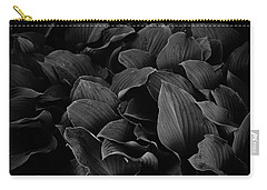 Dark Leaves Carry-all Pouch by Tim Good