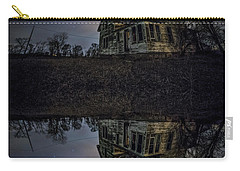 Carry-all Pouch featuring the photograph Dark Mirror by Aaron J Groen