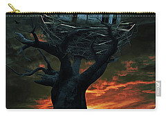 Dark Night Carry-all Pouch by Mihaela Pater