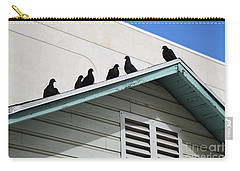 Dark Pigeons Carry-all Pouch