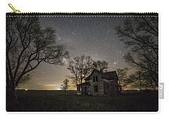 Dark Places On The Prairie  Carry-all Pouch by Aaron J Groen