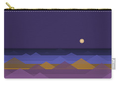 Dark Purple Sky Carry-all Pouch