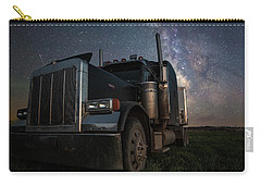 Carry-all Pouch featuring the photograph Dark Rig by Aaron J Groen