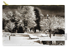 Dark Skies And Winter Park Carry-all Pouch