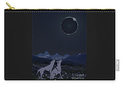 Dark Sky Eclipse Flare Carry-all Pouch