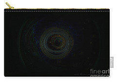 Carry-all Pouch featuring the digital art Dark Spaces by Vicki Ferrari