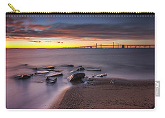 Carry-all Pouch featuring the photograph Dark Stirs Awake by Edward Kreis