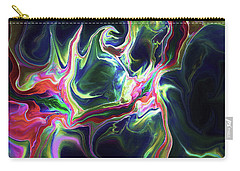 Carry-all Pouch featuring the digital art Dark To Light by Deborah Benoit