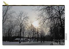 Darkening Sunset Carry-all Pouch
