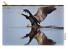 Darter Landing Carry-all Pouch by Bill Robinson