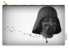 Carry-all Pouch featuring the photograph Darth And His Flock by AJ Schibig