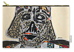 Carry-all Pouch featuring the tapestry - textile Darth Vader Star Wars Afrofuturist Collection by Apanaki Temitayo M