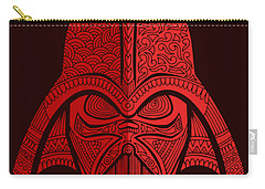Darth Vader - Star Wars Art - Red 02 Carry-all Pouch