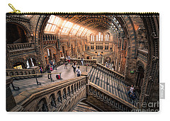 Darwin And Friends Carry-all Pouch by Giuseppe Torre