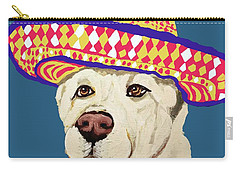 Carry-all Pouch featuring the painting Date With Paint Sept 18 4 by Ania Milo