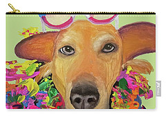 Carry-all Pouch featuring the painting Date With Paint Sept 18 6 by Ania M Milo