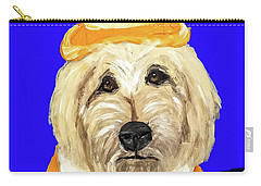 Carry-all Pouch featuring the painting Date With Paint Sept 18 6 by Ania Milo