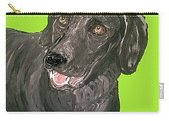 Carry-all Pouch featuring the painting Date With Paint Sept 18 7 by Ania M Milo