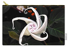 Datura Bud  Carry-all Pouch
